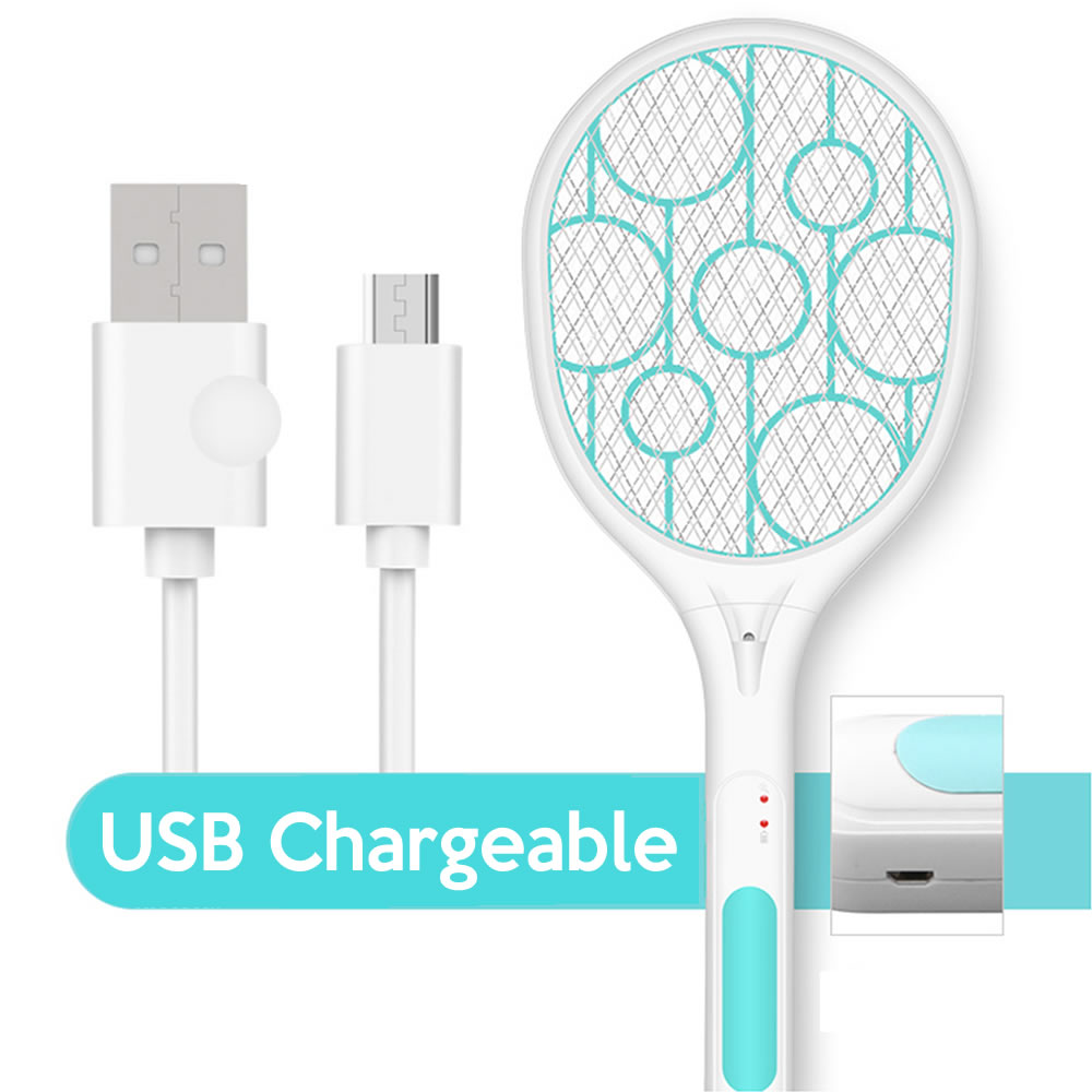 electric fly swatter racket